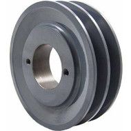 "Packard P2AK30H, Two Groove Bushing Pulleys For 4L Or A Belts 305"" OD"