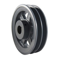 "Packard P2BK3658, Two Groove Pulleys For 4L Or A Belts And 5L Or B Belts 375"" OD 5/8"" Stock Bore"