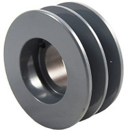 """Packard P2BK45H, Two Groove Bushing Pulleys For 4L Or A Belts And 5L Or B Belts """" OD"""