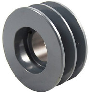 """Packard P2BK65H, Two Groove Bushing Pulleys For 4L Or A Belts And 5L Or B Belts """" OD"""