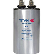 Titan HD POC20A, 370 Volt Oval Run Capacitor 20 MFD