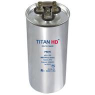 Titan HD PRCFD4010A, 40+10MFD 370/440V ROUND