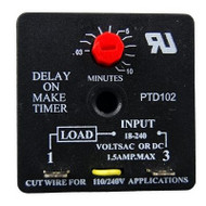 Packard PTD102, DELAY ON MAKE TIMER
