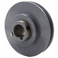 "Packard PVP4034, Stock PVP Variable Pitch Single Groove Pulleys 375"" OD"