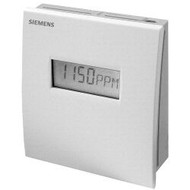 Siemens QPA2060D, SENSOR, CO2 & TEMP, ROOM, 0-10V, DISPLAY