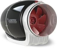 VORTEX S-600, Inline Round Centrifugal Fans 6'', 115V/1HP/60Hz, 347 CFM