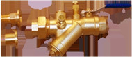 """HCi Terminator A SS Integrated Automatic Balancing Valve with Union, TASS-A-L, 1/2"""", 025-30 GPM Range"""
