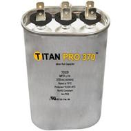 Titan Pro TOCD1010, 10+10 MFD 370V Oval