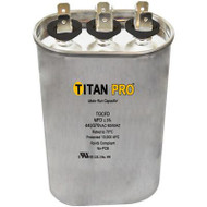 Titan Pro TOCFD2510, Motor Run Capacitor 25+10 MFD 370V OVAL