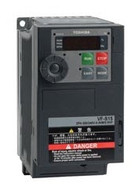 Toshiba VFS15S-2004PL-W, VFD S15 Drive, 230V Single Phase Input, 05HP, 33AMPS
