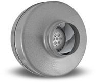 """VORTEX VTX 400, Inline Round Centrifugal Fans 4"""", 115V/1PH/60Hz, 175 CFM"""