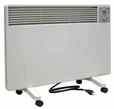 Qmark WPC1500, Portable Radiant Convection Panel Electric Heaters, 1500/1000/500W, 120V