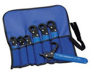 "Imperial Stride Tool 195-7STDS (92998), 7 Pc Ratchet Wrench Kit, SAE 3/8""h - 3/4""h, with Pouch"