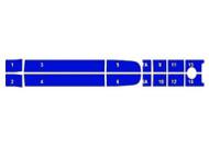 Strp Kit Blu Must 05-08 401503