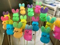 Easter Chocolate Covered Marshmallow Chicks-n-Peeps