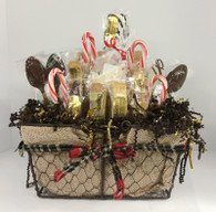 Season's Greetings Biscotti Gift Basket