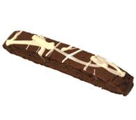 White Forest Flavored Biscotti - 50 piece minimum