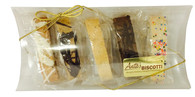 5 piece Mini Biscotti Pillow Box Gift