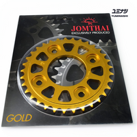 JOMTHAI 34T REAR SPROCKET, 7075-T6 ADVANCED AVIATION GRADE (#420) (41200-K26-034RG)