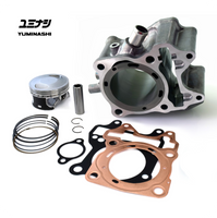 YUMINASHI 164CC FLAT DECK BIG BORE KIT FOR PCX125 FIRST GENERATION (Can't be installed with the stock cylinderhead...)