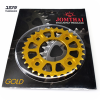 31T 7075-T6 Aviation Grade Sprocket, hand finished with self cleaning design...