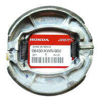 GENUINE HONDA BRAKE SHOES (REAR) (06430-KWN-900)
