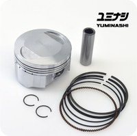 YUMINASHI 58MM DOME PISTON (13MM PIN) FOR 125 ENGINES