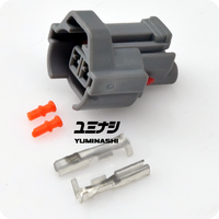 YUMINASHI FEMALE CONNECTOR  (FOR KEIHIN C-TYPE INJECTOR & DENSO INJECTOR)