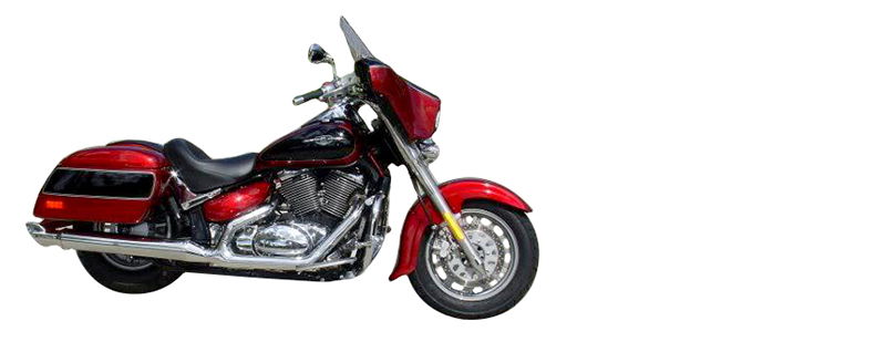 harley with fairing