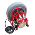 DM138 drain cleaning machine showing which is perfect for unclogging sink lines, shower drains, or bath tub drains