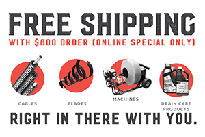 Free Shipping with $600 order – Online Special Only