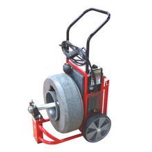 DM162 - Professional mini upright drain machine is easy to move through doorways