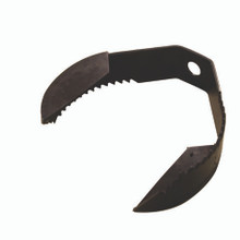 """10072 - 4"""" Heavy Double Paddle Pear Saw Blade (5 pack)"""