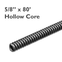 """5/8"""" x 80' drain cleaning cable for sewer and drain equipment. 5/8"""" draincables work to clear small and large drains of clogs."""