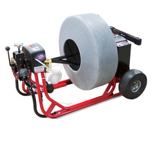 DM55 SPO Commercial Drain Cleaning Machine with PCFR (Power Cable Feed and Return)