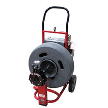 """DM175SP1 - Upright drain cleaning machine with 23"""" cable drum"""