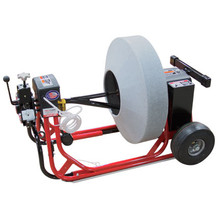 """DM55 SPP Drain Cleaning machine with 26"""" enclosed cable drum for 11/16"""" drain snakes"""