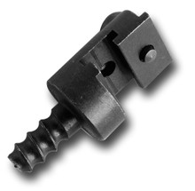 """A2G slip joint end fitting attaches to 1/2"""" drain cables to optimize drain cleaning equipment while on the job when used with a blade, chisel, or other drain cable accessory."""