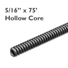 """5/16"""" x 75' replacement drain cleaning cable for sink cleaning machine. Cleans drain lines from 1-2""""."""