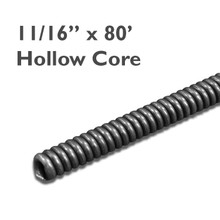 """11/16"""" x 80' Commercial Core Drain Cable (no core) which is great for cleaning residential and commercial plumbing drain lines from clogs of grease."""