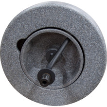 """The 14"""" flat enclosed poly reel is an alternate drum for the DM140 sink drain cleaning machine by Duracable."""