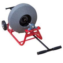 """JMaxx SPB professional drain machine with 16"""" poly cable drum for 3/8"""" x 75' sewer cable"""
