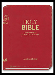 NRSV Holy Bible Compact Red