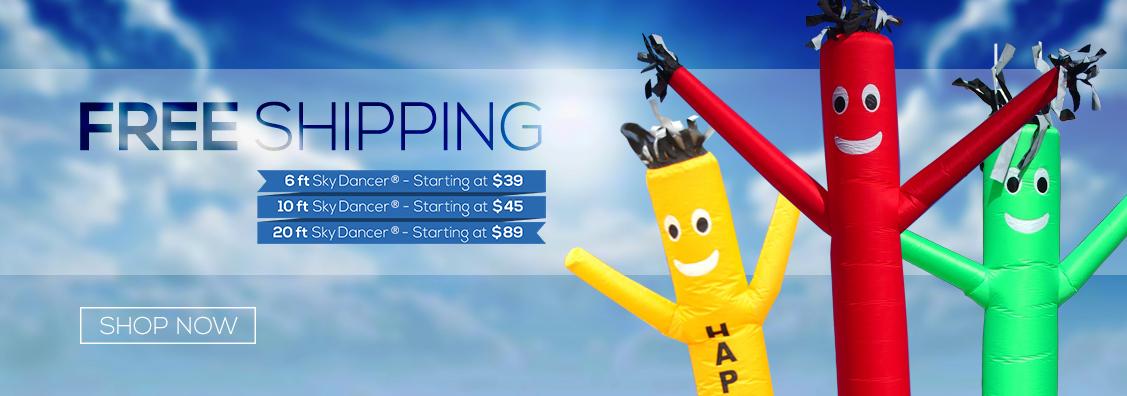 Sky Dancers | Air Dancers | Feather Flags | Custom Advertising ...