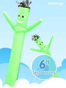 Sky Dancers Green - 6ft