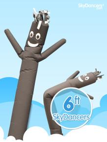Black sky dancer by skydancers.com.  Indoor 6ft