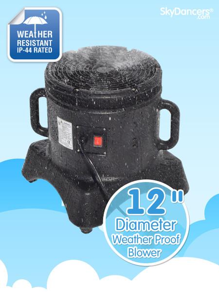 """Weather Proof 12"""" Diameter Blower"""