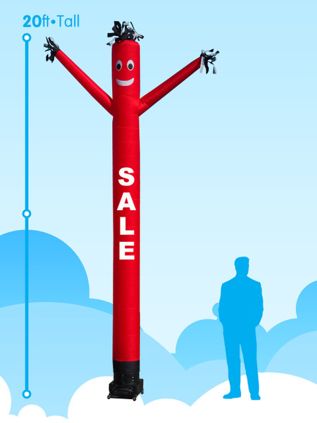 Sky Dancer Sale Red - 20ft