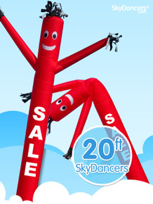 Sky Dancers Sale Red - 20ft