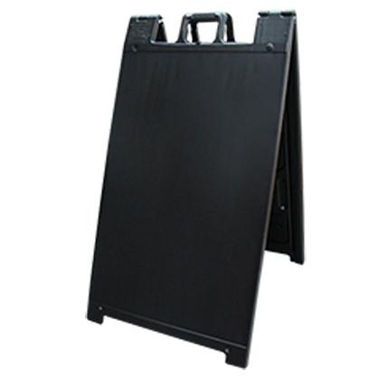 Black Plastic A Frame Sign